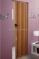 building material decorative pvc plastic folding doors 6mm