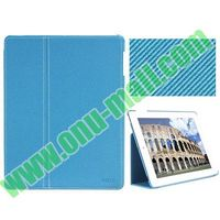 BELK Series Ultrathin PU Leather Smart Cover Leather Case for iPad Mini Retina with Holder