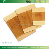 TF066/Professional fruit and vegetables bamboo cutting board/wholesale foldable bamboo cutting board in kitchen