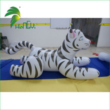 Hongyi manufacturers 2015 PVC White Inflatable Tiger