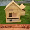 de madera de pollo coop de aves de corral casa de construcción dfc001