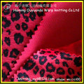 patrón de la impresión de la piel de los animales de pelo corto telas Velboa. / patrón de leopardo