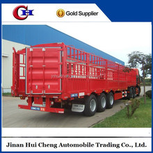 Animal transport vehicle,cargo stake semi trailer on sale
