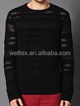 männer transparent pullover