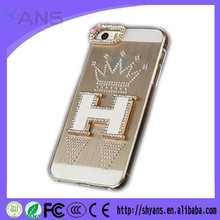 Luxury Crystal Fashion DIY Handmade Bling Wallet Case For Iphone 5