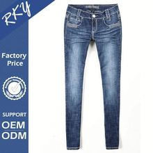 Hot Sales Professional Design Breathable Women Jeans Lady Old Sexy