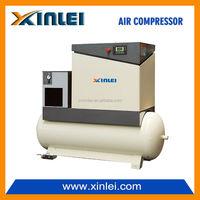 screw type air compressor XLPMTD7.5A-A4 50HZ 5.5kw 7.5hp 8bar 350L tank