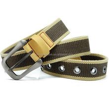 News Arrival adjustable uniform outdoor rappel sport patrol hunting utility canvas belt with holes