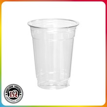 Disposable Soft Plastic PET 14 Ounce Clear Party Cups