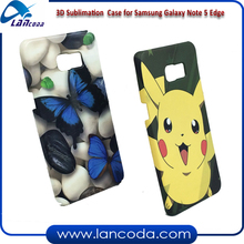 Good rates 3D Sublimation Blank Case for Samsung GALAXY Note5 Edge