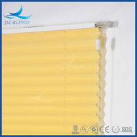 2015 Latest design lace pleated window blinds