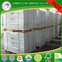 duplex board paper with grey back(white back)
