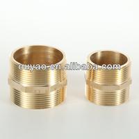Brass reducing tube hex nipple/reducing or equal nipple