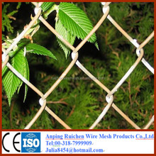 2015hot sale ! used chain link fence chain link wire mesh fence for sale with low price