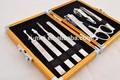 omuda salón de juegos de manicura pedicura hombres kits de kits de aseo personal
