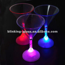 Fashional style flashing led cocktail cup for party & bar