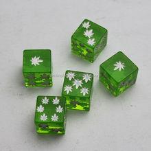 Cute Plastic Custom Printing Dice For Game