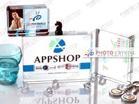 Digital photo crystal/gift/occasion/crystal crafts/promotion/advertising/wedding