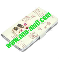 Lovely Girl Diary Design Leather Case for Samsung Galaxy Note 3/N9000