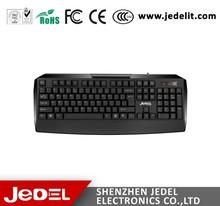 Made In China cheap 104 keys standard wired ergonomic keyboards