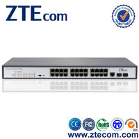 Made in China Supplier 10/100M 24 port vlan switch gigabit poe