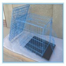 6 Sizes Metal Folding pink dog crate