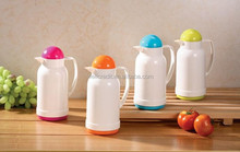 Baby plastic thermos with glass inside