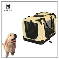 Folding Pet Crate Indoor/Outdoor Dog Home/Carrier