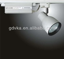 led mounted high quality halogen 35w dimmable track spot lights for clothing store furniture