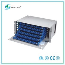 72 Fiber SC/ST/FC/LC Adapters Compliant Fiber Optic Distribution Box Fiber Optic Splicing Machine Surlink