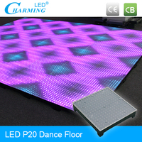 High resolution illuminated dance floor P20mm