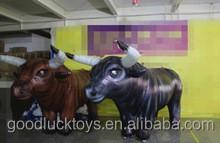 Decoración desfile de la demostración cow costume