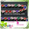 /p-detail/moda-venta-caliente-de-acr%C3%ADlico-de-colores-de-la-cadena-de-diamantes-de-imitaci%C3%B3n-300002256553.html