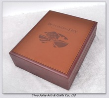 Custom Bible box/Pu Leather box