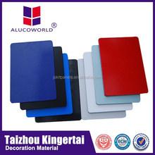 Alucoworld aluminum composite panel building material aluminium profile