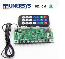 AUELEC 12V wireless USB Bluetooth FM audio amplifier module