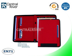 expading file folder with Writing Pad Holder in china