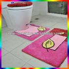 alta qualidade confortável cortina de chuveiro com tapete de banho conjuntos