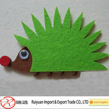 Professional manufacturer wool felt animals for kids