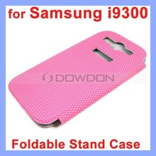 Leather Flip Case Cover Stand for Samsung Galaxy S3 SIII i9300