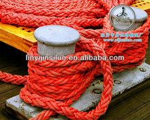 8 strands braided pp marine 5 inch rope