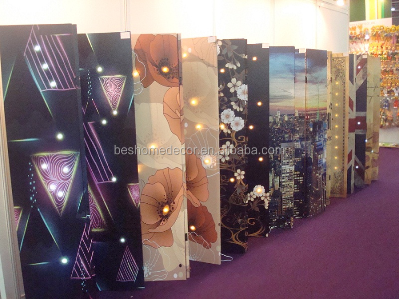 lighted screens with non-woven backing,2015 April canton fair