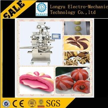 High quality double filling red bean pie making machine