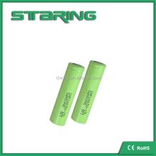 High power Samsung INR18650 15L cells , 18A dischage rate battery, High continue discharge 18A 3.6v 1500mAh Samsung 18650