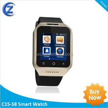2015 price of hand watch smart watch phone v8 smart watch cz