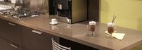 2015 the Latest Synthetic Man Made Kitchen Quartz Stone Island Countertops
