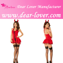 adult carnival party sexy red devil costume