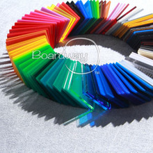 Colourful cast or extruded acrylic sheet/plastic sheets for light cover, advertisment, furniture