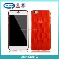 popular phone cover tpu case with finger ring for iphone 6