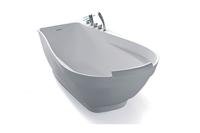 Renewable White Artificial Stone Bathtub